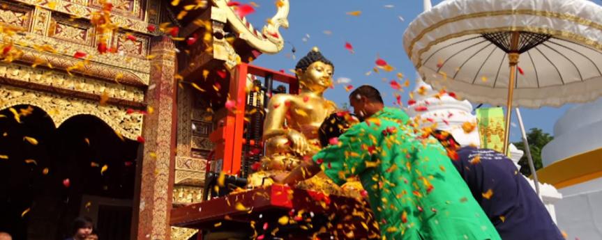 Songkran in 4 Regions สงกรานต์ 4 ภาค ความเหมือนในความต่าง